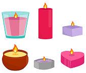 Aroma candles set