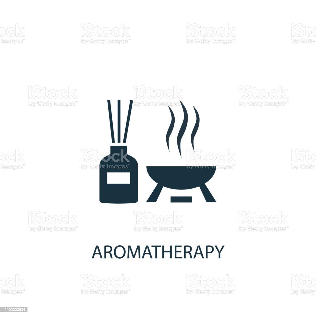 アロマセラピークリエイティブアイコン単純な要素のイラスト - お香の ...