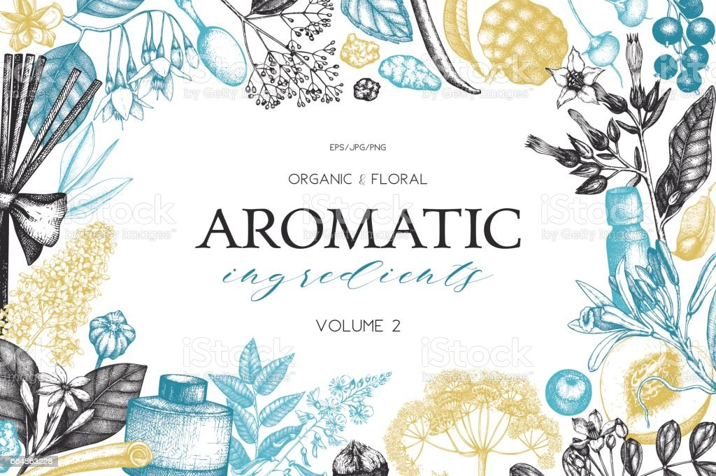 aromatic_vol.2_pr vector art illustration