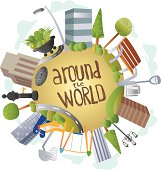 Around the World - City Furniture