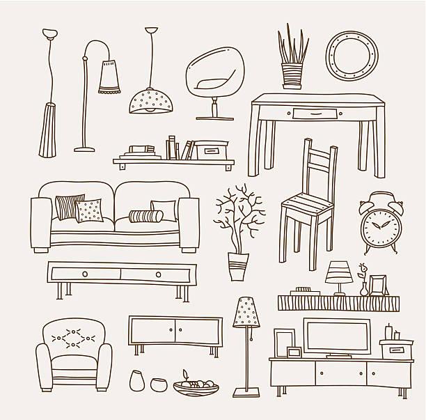 Salon illustration - Illustration vectorielle