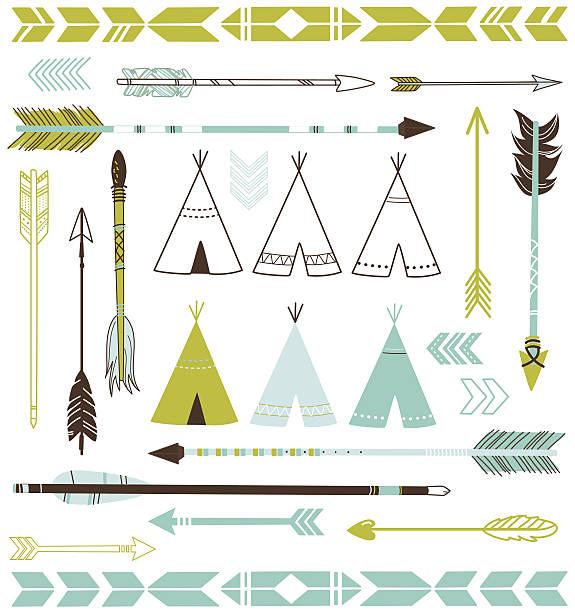 Arrow 9 vector art illustration