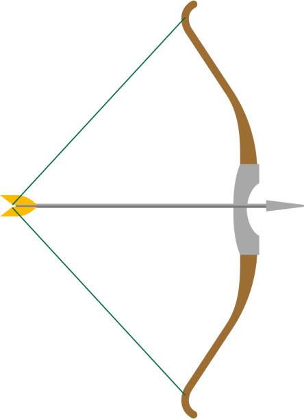 弓矢 イラスト素材 Istock
