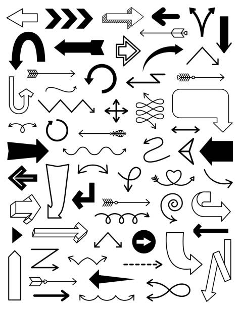 Arrow Clipart vector art illustration