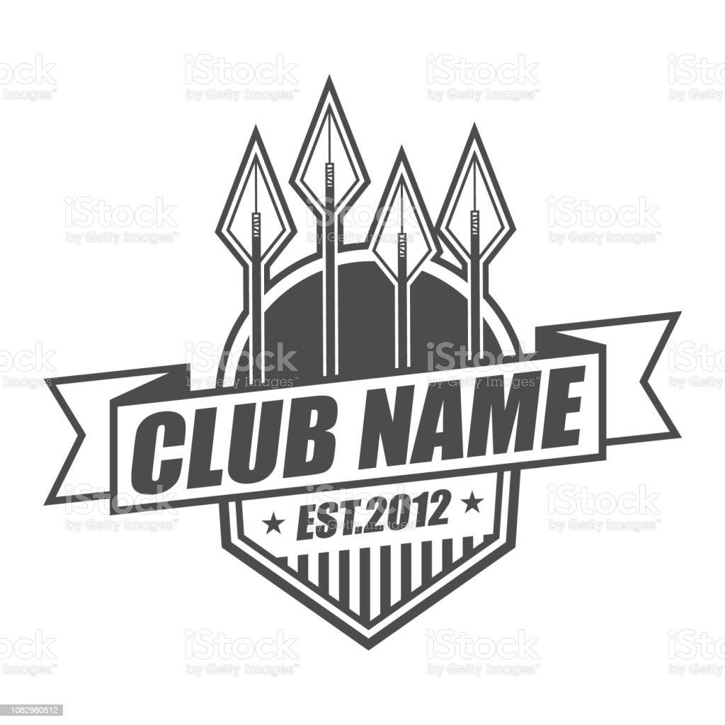 Arrow Club Logo Design Stock Illustration Download Image Now Istock