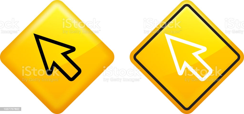 Arrow Computer Mouse Icon Stock Vector Art More Images Of Arrow