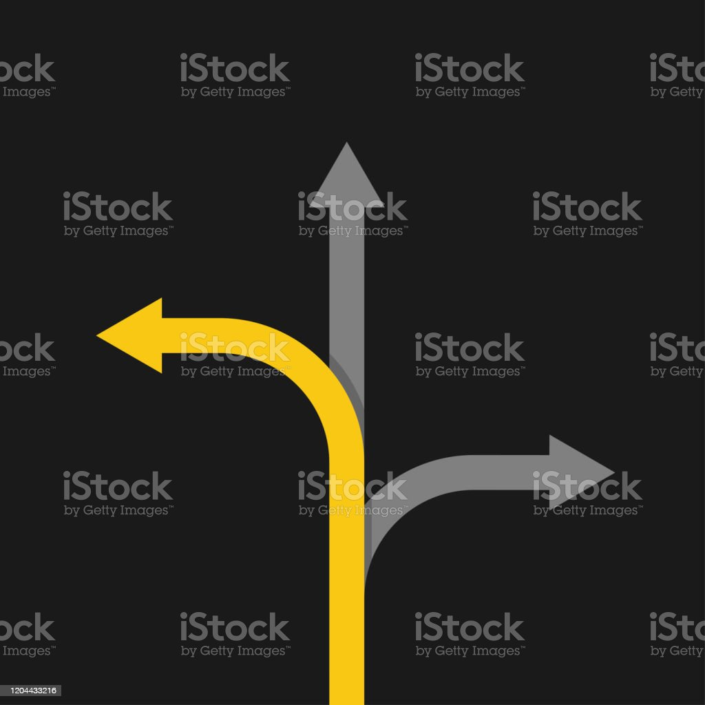 arrow concept competition straight white on dark background, dark background, flat vector arrow concept competition straight white on dark background, dark background, flat vector illustration Aiming stock vector