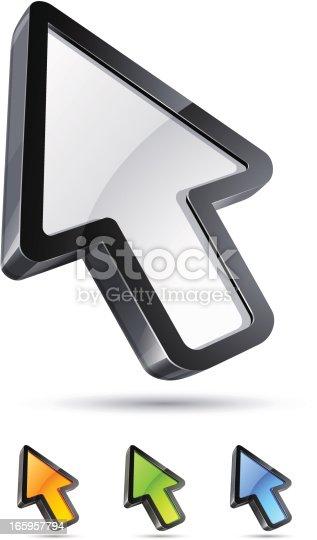 istock Arrow cursor 165957794