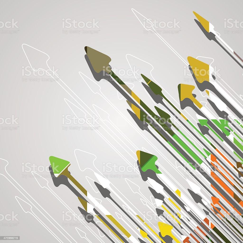 Arrow design background. royalty-free stock vector art