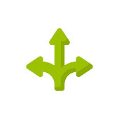 istock Arrow Flat Icon. Pixel Perfect. For Mobile and Web. 1151581229