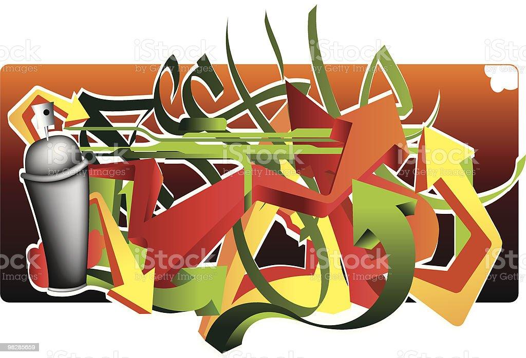 Arrow Graff royalty-free arrow graff stock vector art & more images of arrow symbol