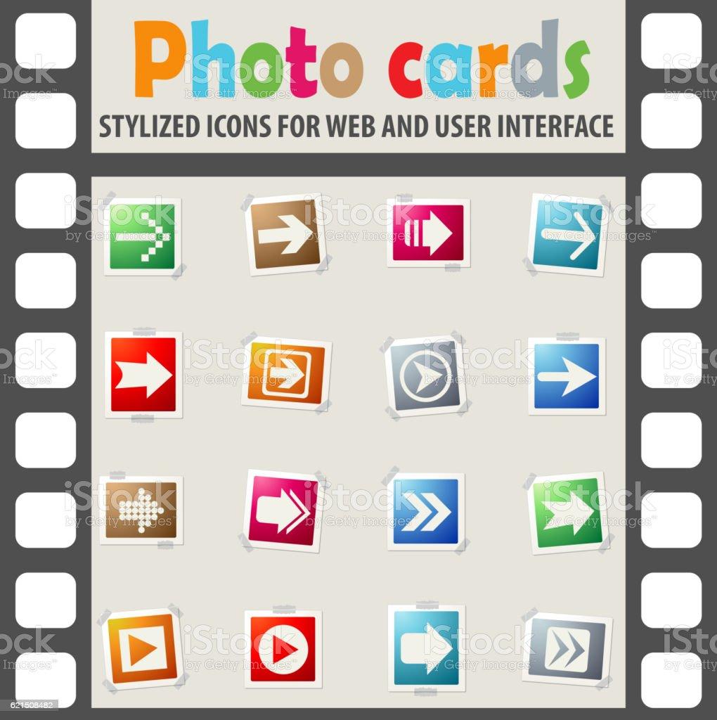 Pfeilsymbol set Lizenzfreies pfeilsymbol set stock vektor art und mehr bilder von der weg nach vorne