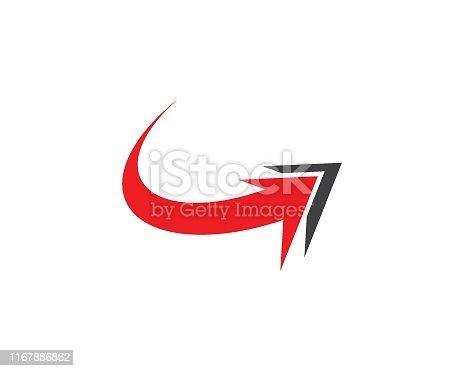 Arrow icon set vector illustration Logo Template design