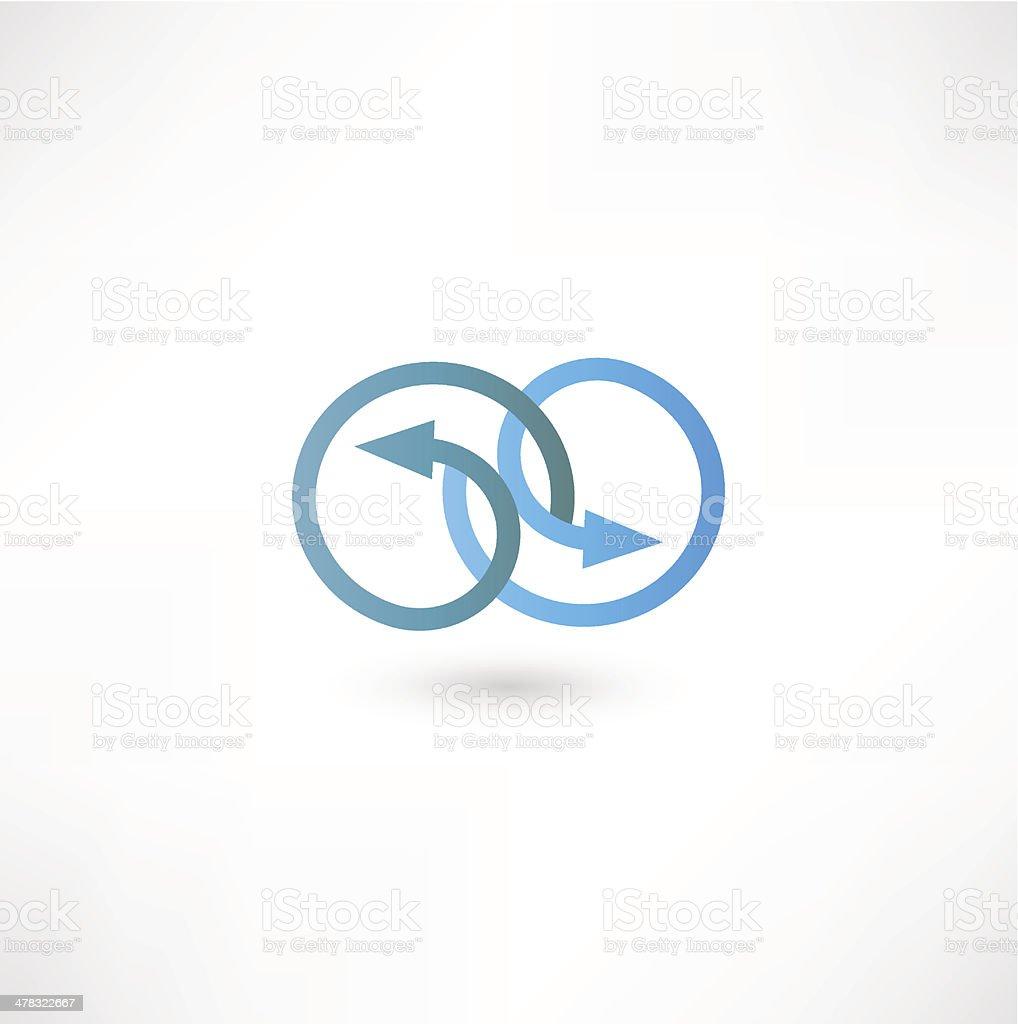 Arrow Icon royalty-free stock vector art