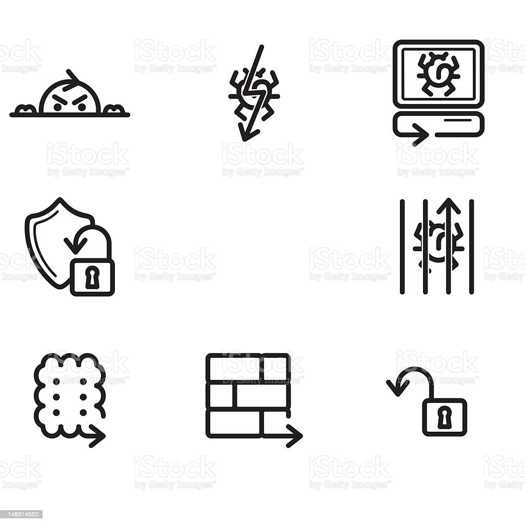 Arrow Icons Series royalty-free arrow icons series stock vector art & more images of .com