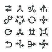 Arrow Icons Set - Acme Series