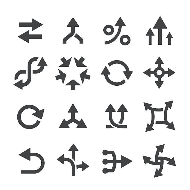 Arrow Icons Set - Acme Series View All: eternity stock illustrations