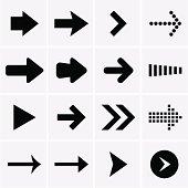 Arrow Icons. Vector
