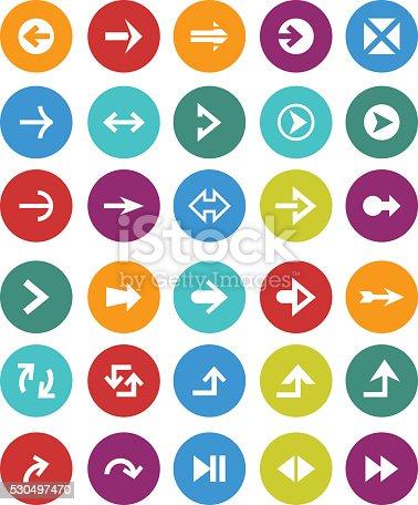 istock Arrow icons 530497470