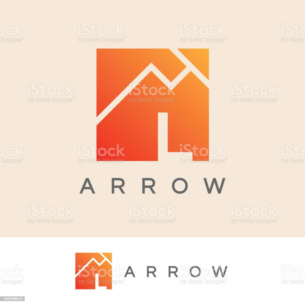 arrow initial Letter L icon design vector art illustration