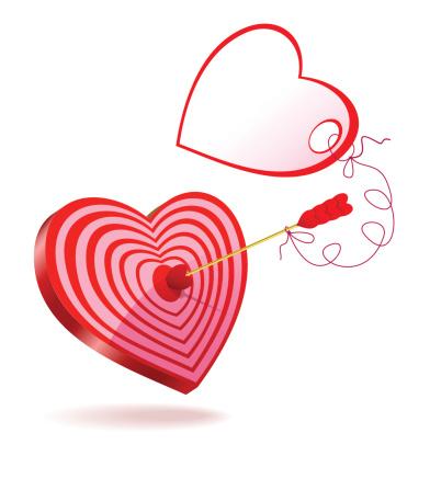 Arrow of Love greeting.