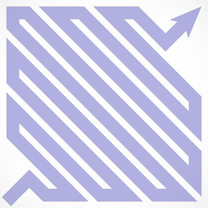 Arrow Path Form a Square