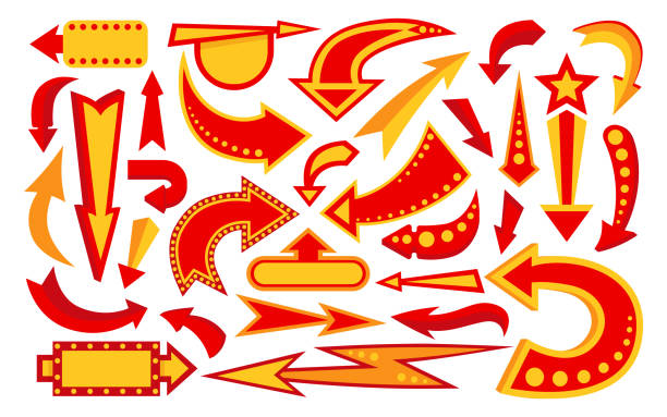 Marquee Arrow Illustrations, Royalty-Free Vector Graphics ...