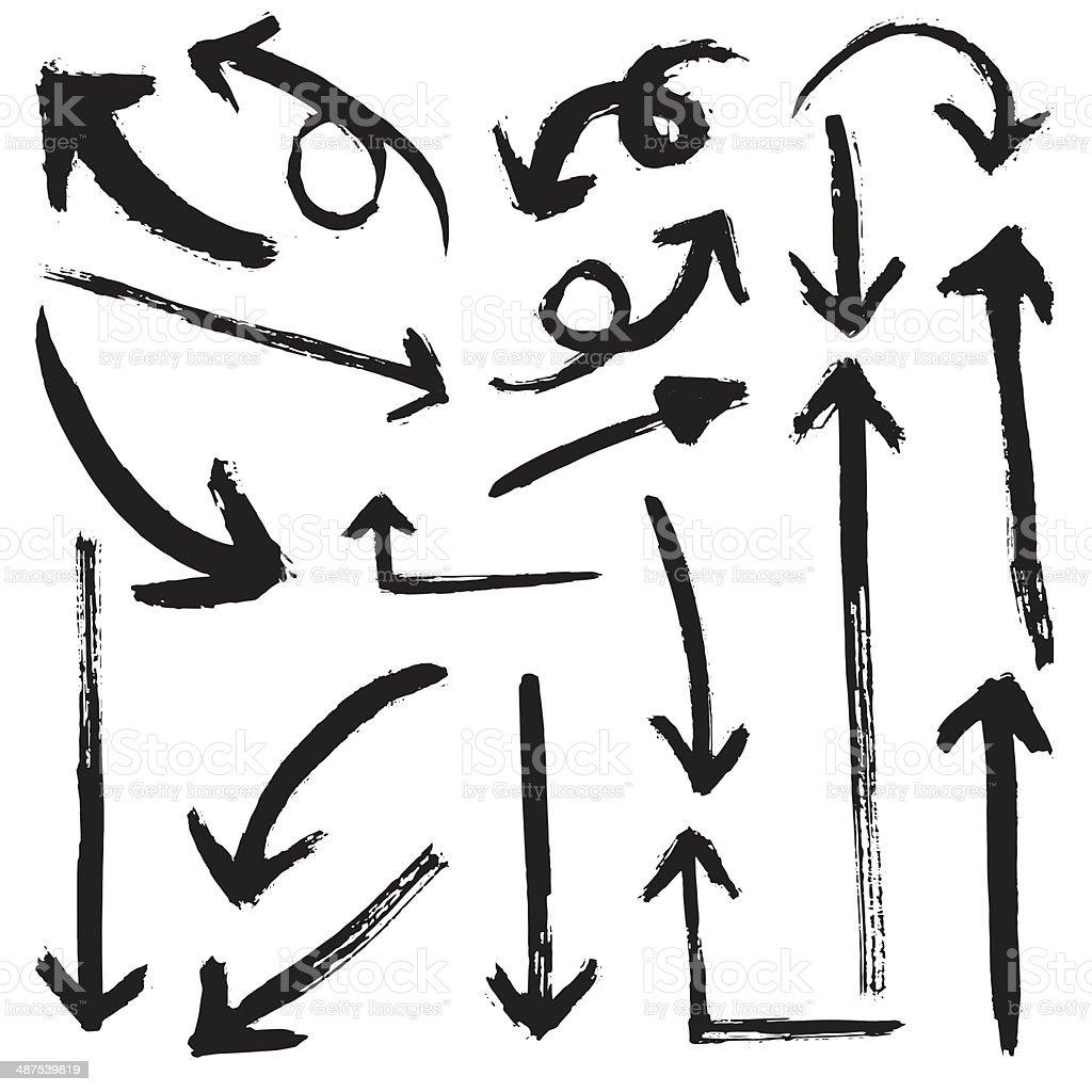 Flèche Collection - Illustration vectorielle