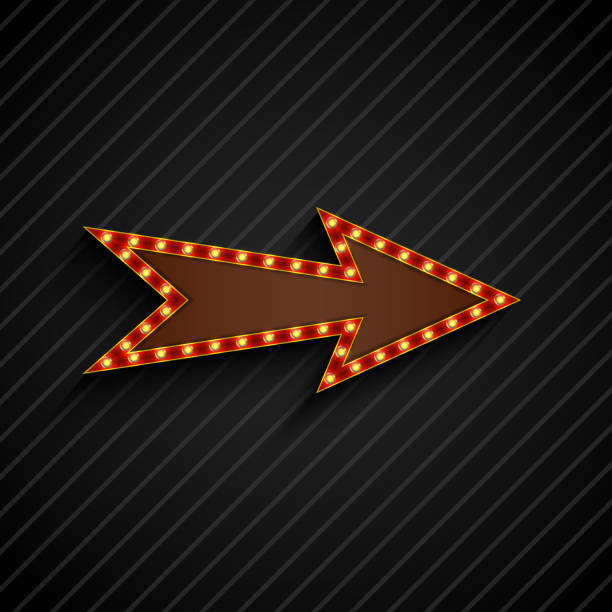 Best Marquee Arrow Illustrations, Royalty-Free Vector ...