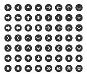 arrow signs and icons