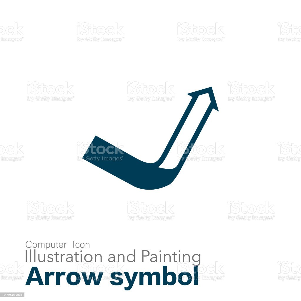 arrow symbol vector art illustration