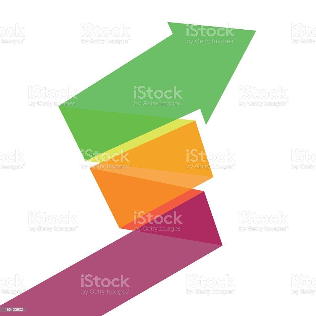 Arrow vector art illustration