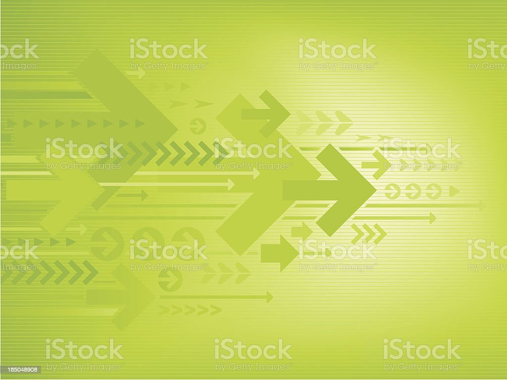 Arrows Background vector art illustration