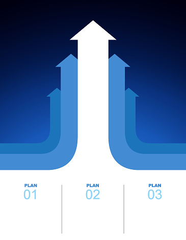 Arrows business growth plan background