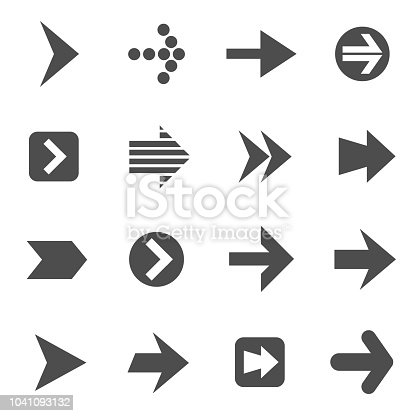 arrows vector icons for your creative ideas