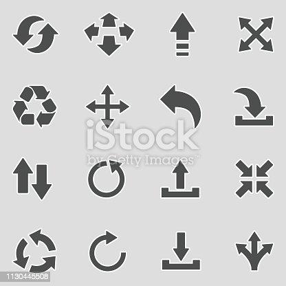 Arrow, Pointer, Downloading, Internet, Sticker