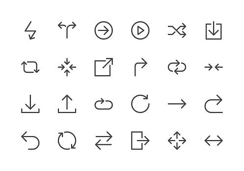 Arrows - Line Icons