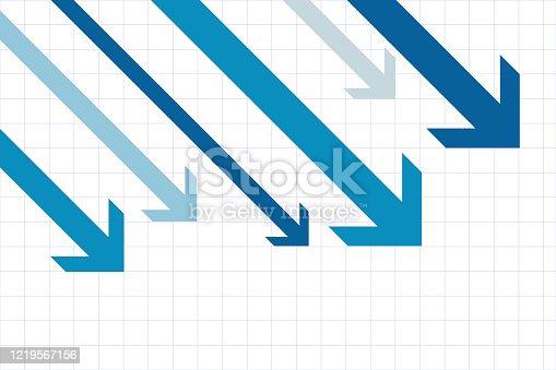 Concept representing decline and retrogression.