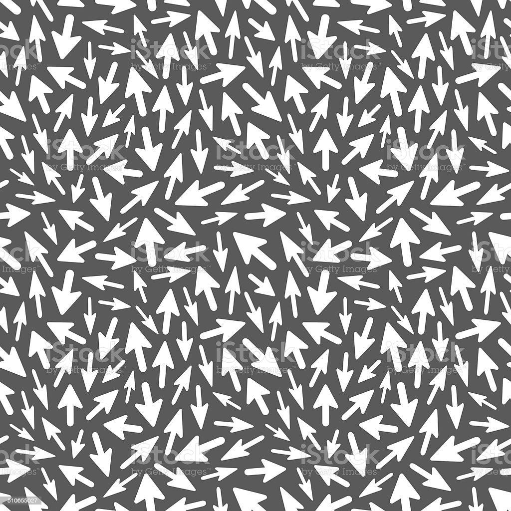 Arrows. Seamless pattern. vector art illustration