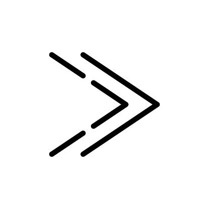 Arrows symbol stock illustration