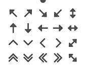 istock Arrows v1 UI Pixel Perfect Well-crafted Vector Solid Icons 48x48 Ready for 24x24 Grid for Web Graphics and Apps. Simple Minimal Pictogram 1212482258