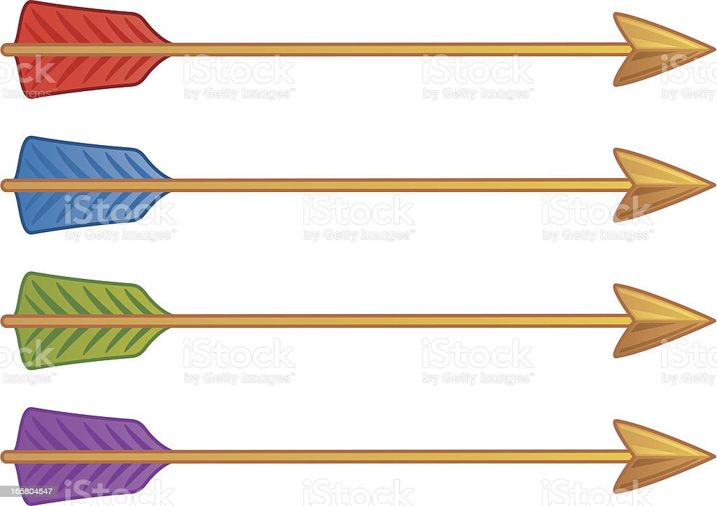 Arrows royalty-free stock vector art