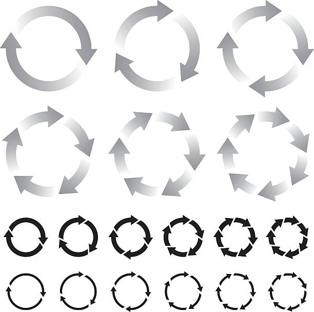 strzałki - rower stock illustrations