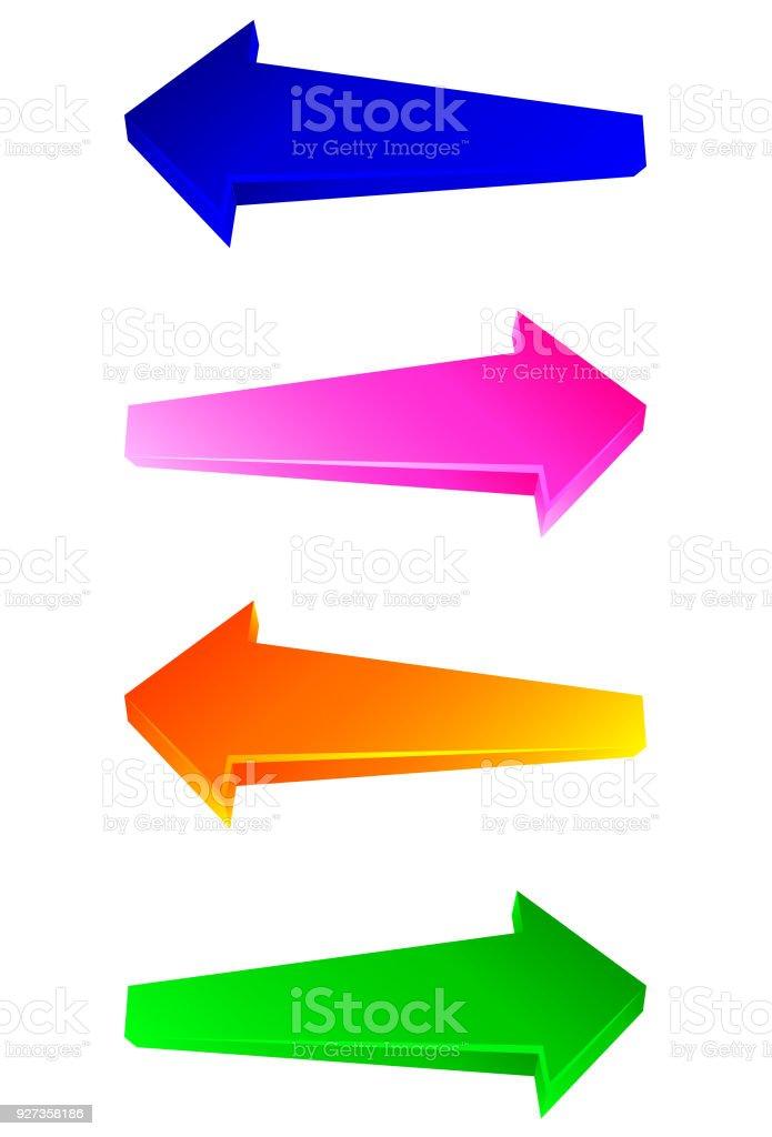 Arrows - Royalty-free Arrow Symbol stock vector