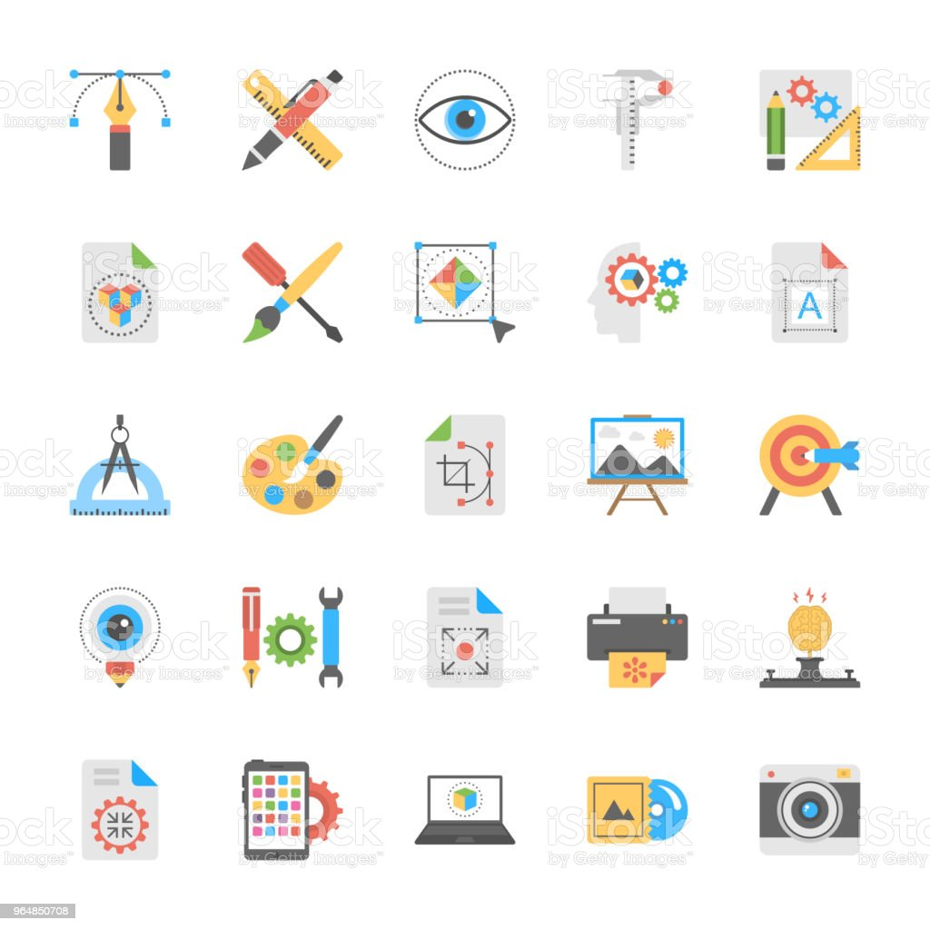 Art and Design Icons royalty-free art and design icons stock vector art & more images of eye
