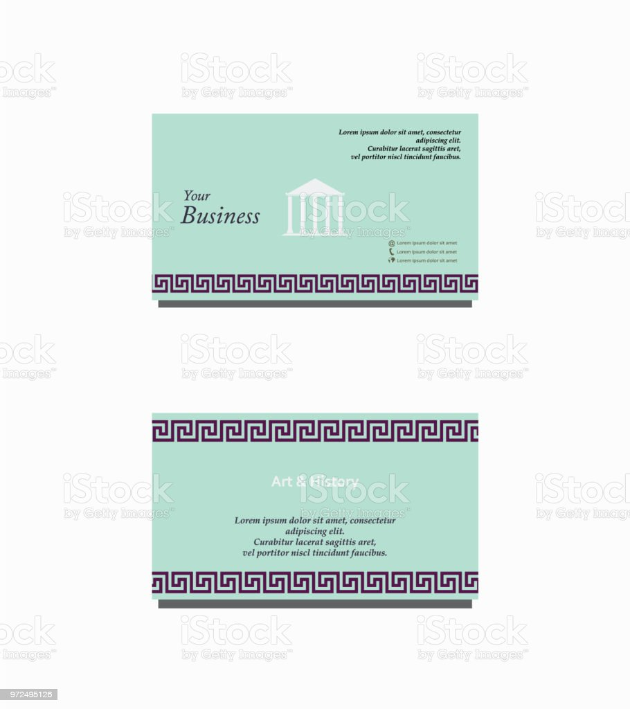 Art and history business card stock vector art more images of art and history business card royalty free art and history business card stock vector art reheart Image collections