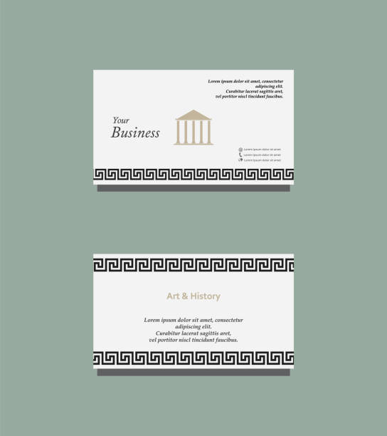 Art and history business card stock vector art more images of art and history business card stock vector art more images of abstract 975413760 istock reheart Image collections