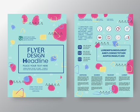 909923870 istock photo art background for Corporate Identity , Brochure annual report cover Flyer Poster design Layout vector template in A4 size 947129492