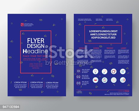 909923870istockphoto art background for Corporate Identity , Brochure annual report cover Flyer Poster design Layout vector template in A4 size 947132594