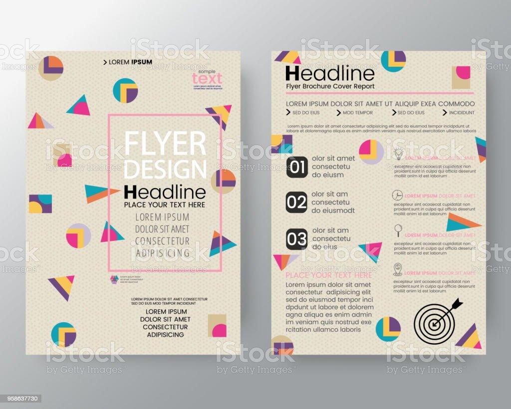 Kunsthintergrund Für Corporate Identity Broschüre Deckblatt